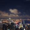 香港の夜・・・