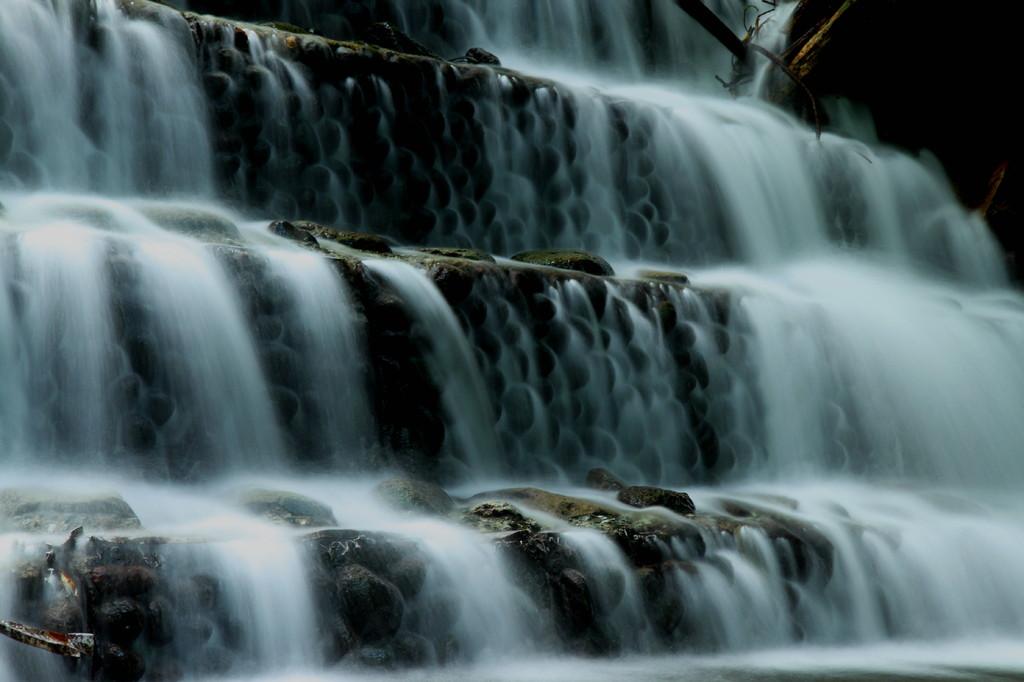 酒水の滝!