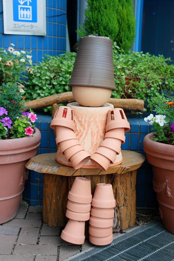 植木鉢人形