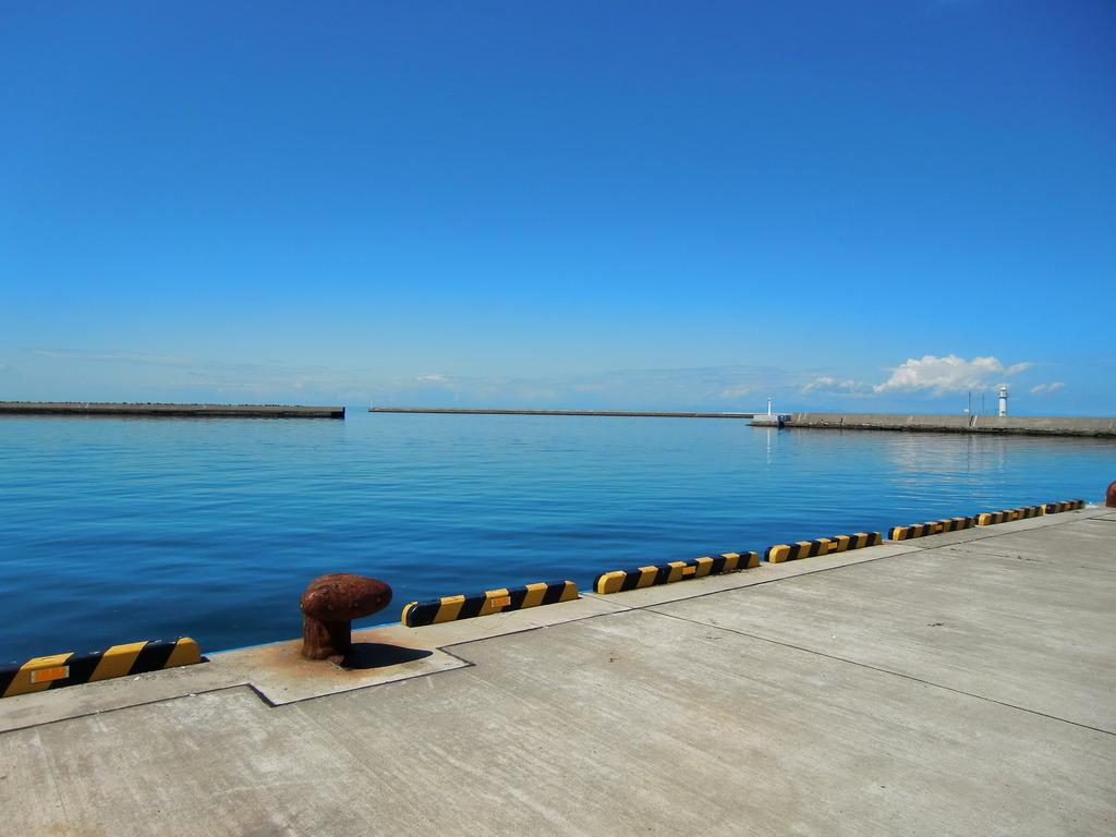 碧い海と碧い空