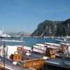 カプリ島の港