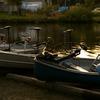 夕暮れのボート