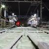 龍安寺駅(雪)