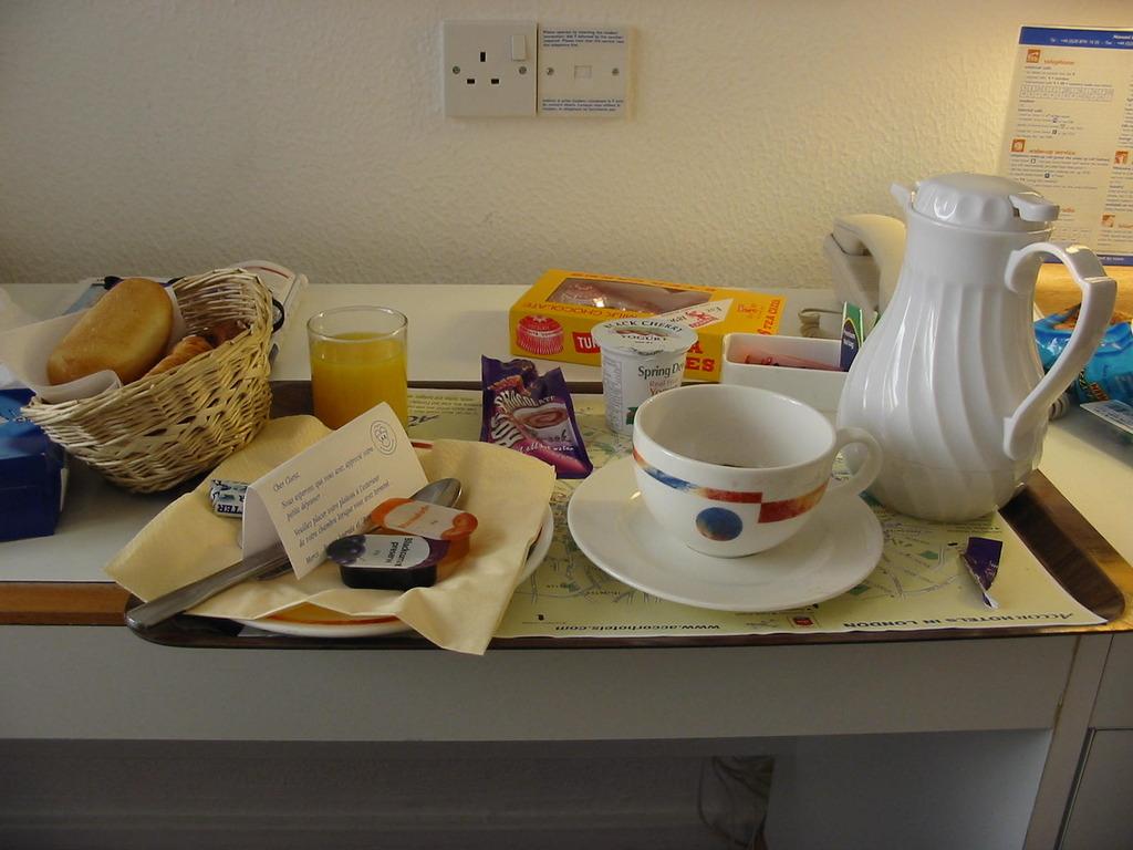 ロンドンの朝食
