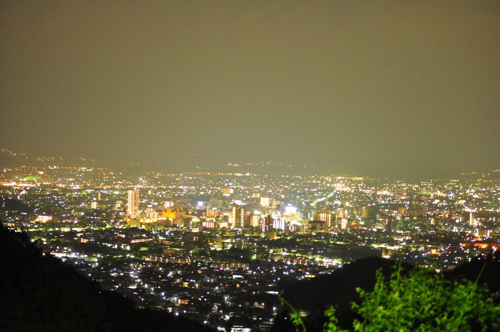 夜景のブリリアントカット