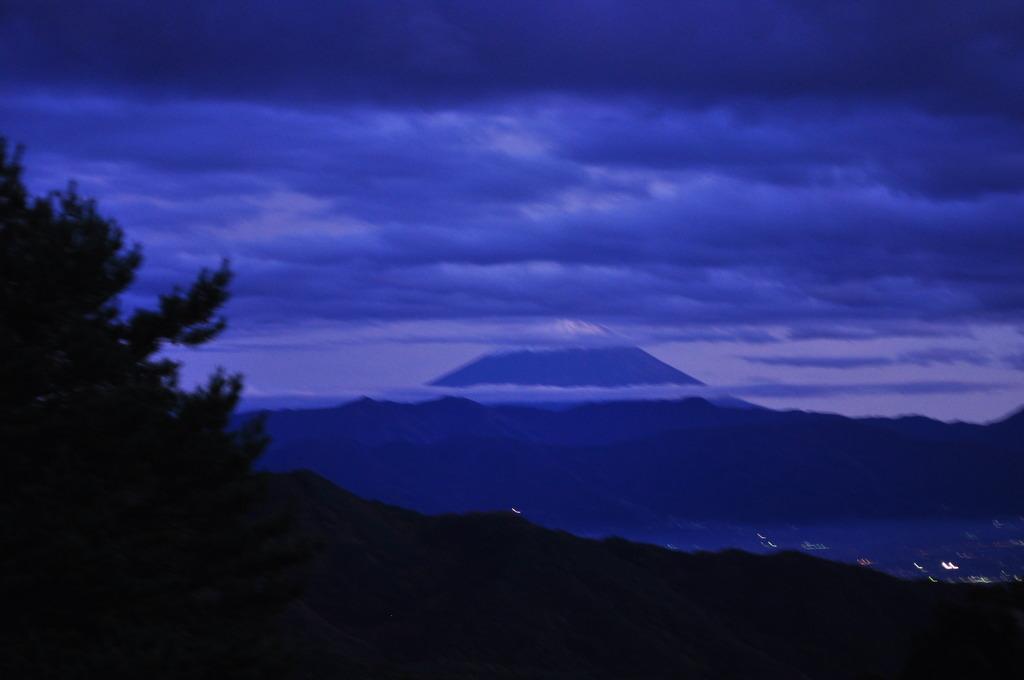 昇仙峡と富士