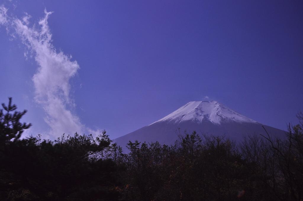 龍図越富士