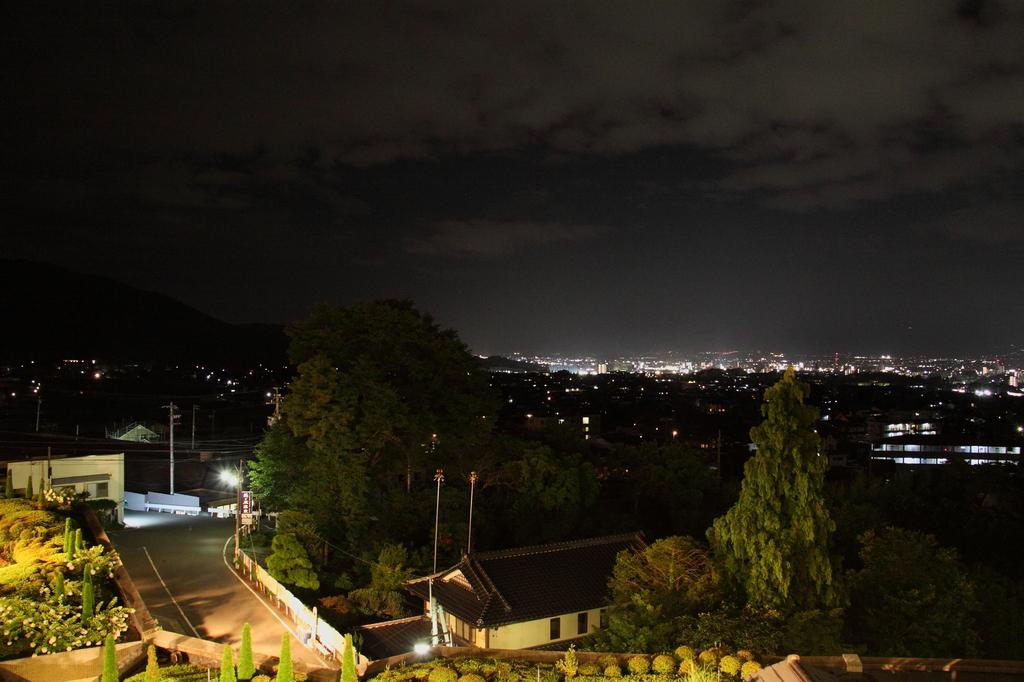 信州松本 ホテルからの夜景