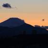 富士の夕景 20160120