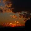 夕陽の脚は速かった・・・