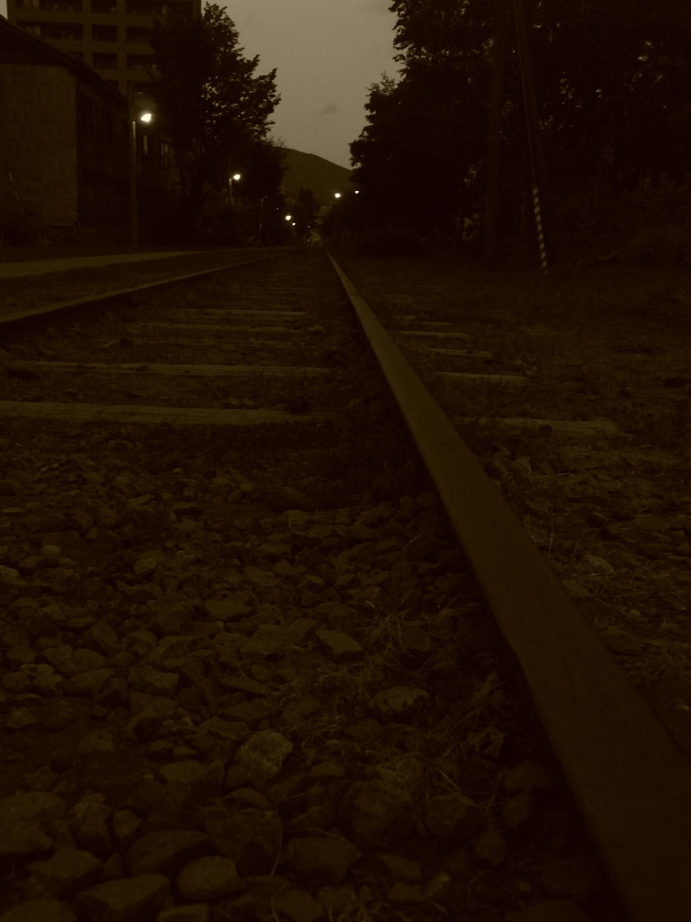 小樽の電車道