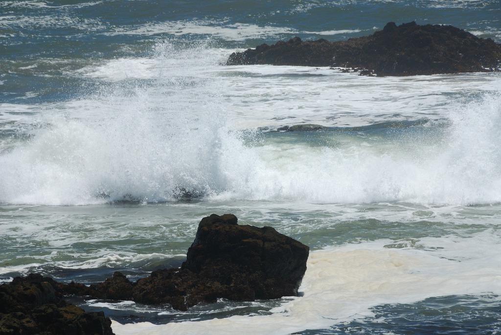 台風が近づく日