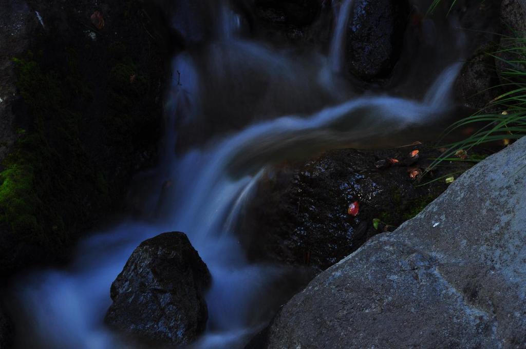 ふわふわな水の流れ