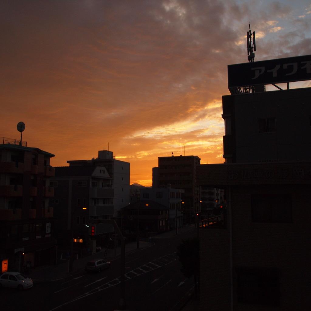 20090823マンション夕方2