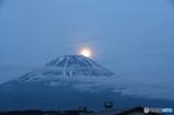 朝霧高原のパール富士②