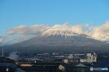今日こそはダブルパール富士を撮るぞ。新富士駅着1分前
