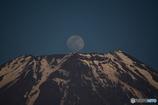 朝霧高原のパール富士 2015年5月2日