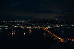 江ノ島の夜