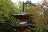 大威徳寺多宝塔
