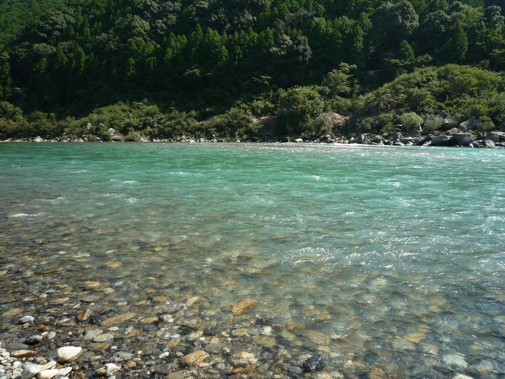熊野川のせせらぎ