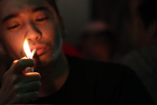愛煙な人々。