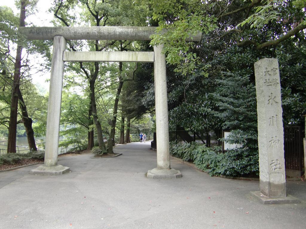 氷川神社@鳥居