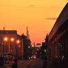 午後6時の景色