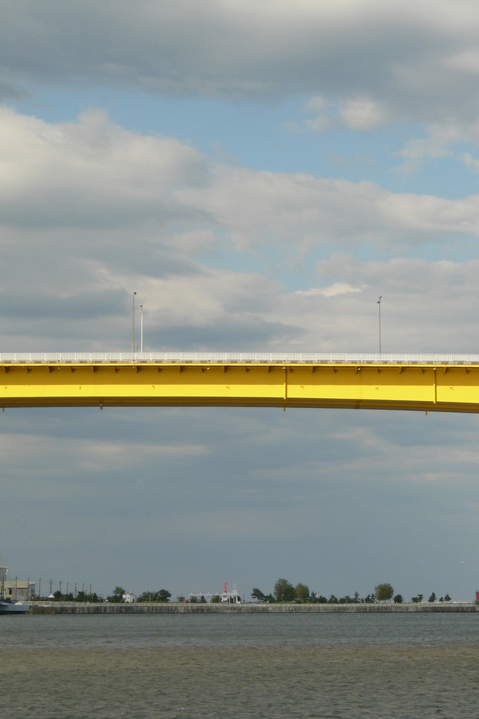 橋の真ん中