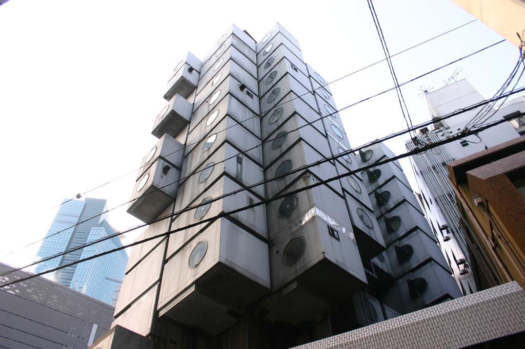 中銀カプセルタワー