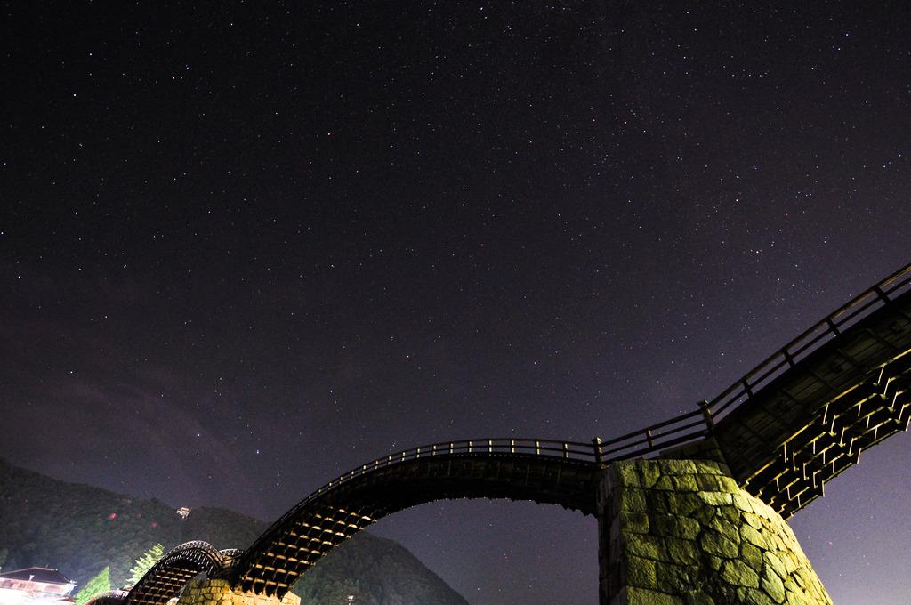 星と金の城下町