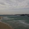 海と島と橋と波