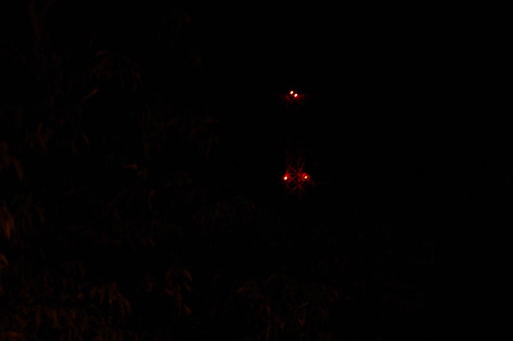 送電線の夜