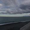 夕方の海の色