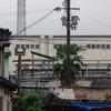 下町と醤油工場