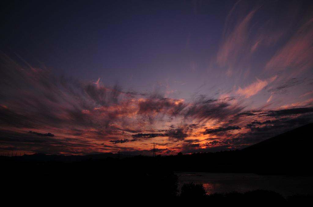 moere sun set