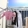 家族の洗濯物