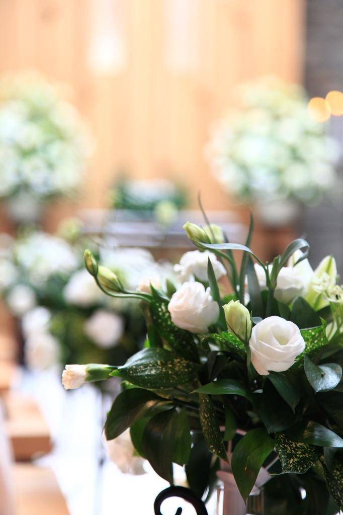 結婚式での1コマ