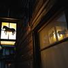 木曽馬の街灯(木曽福島)