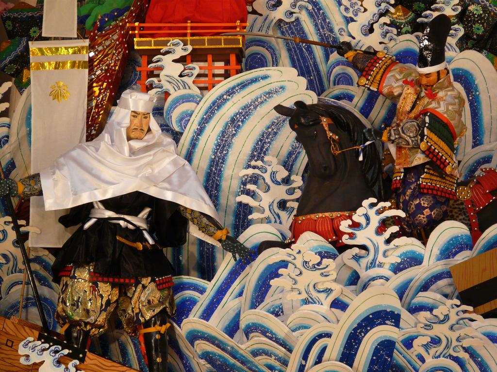 博多祇園山笠 2009 / 天神1丁目 飾り山