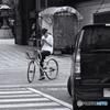Smartphone girl in Hakata