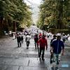 Pilgrims at Nikko toshogu