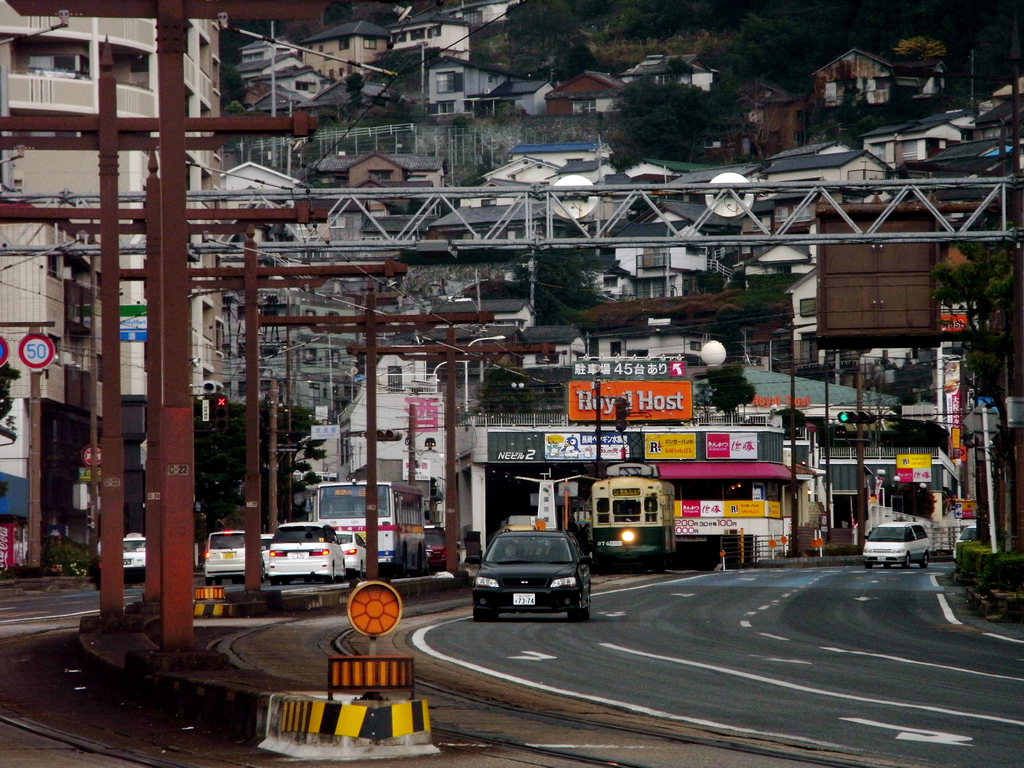 Nagasaki Electric Tramway(Hotaru-jyaya)