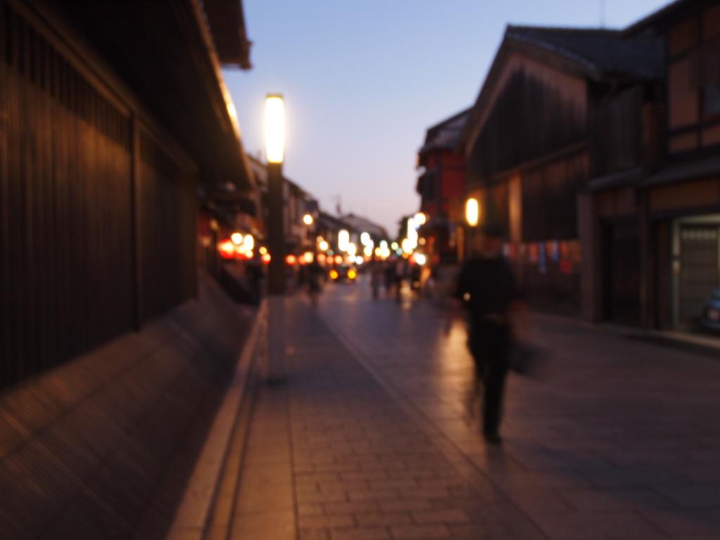 京都の裏路地