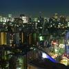 文京区役所からの夜景