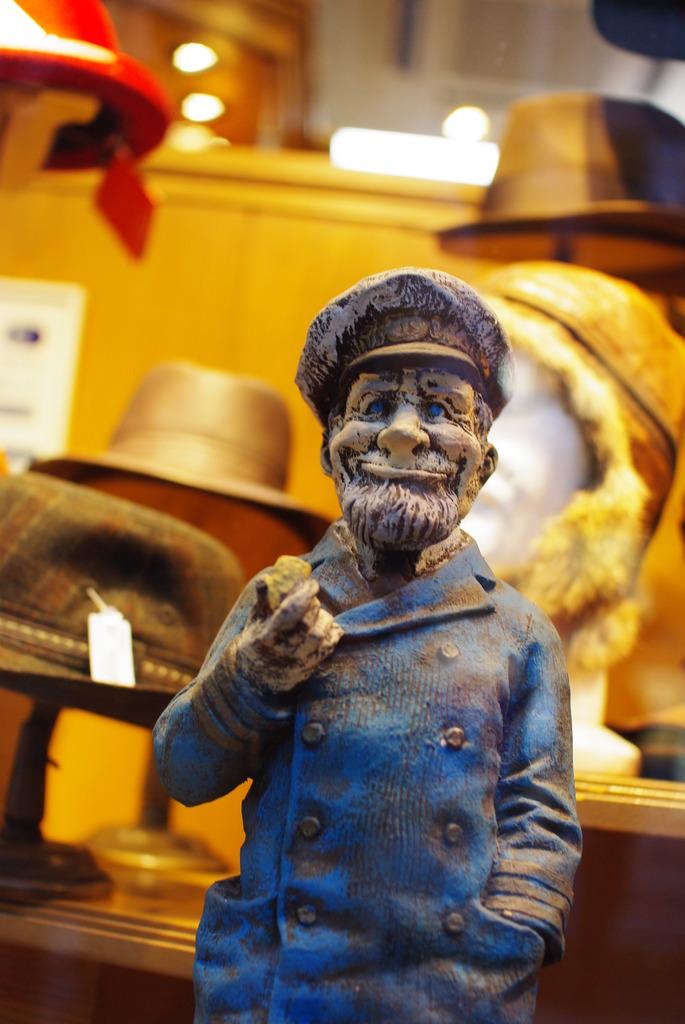 帽子屋の店主