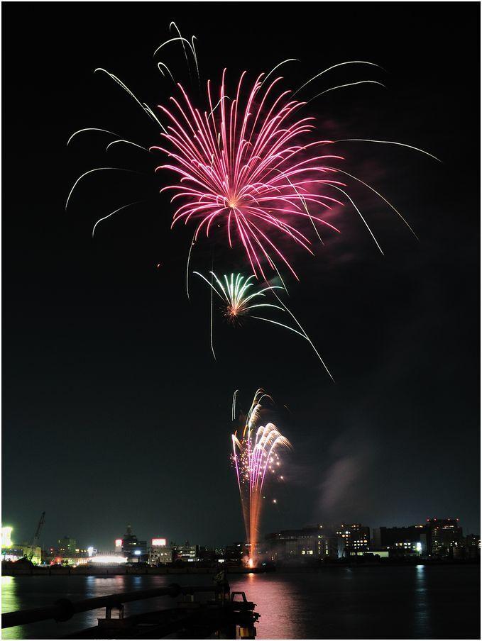 オプシアミスミの花火