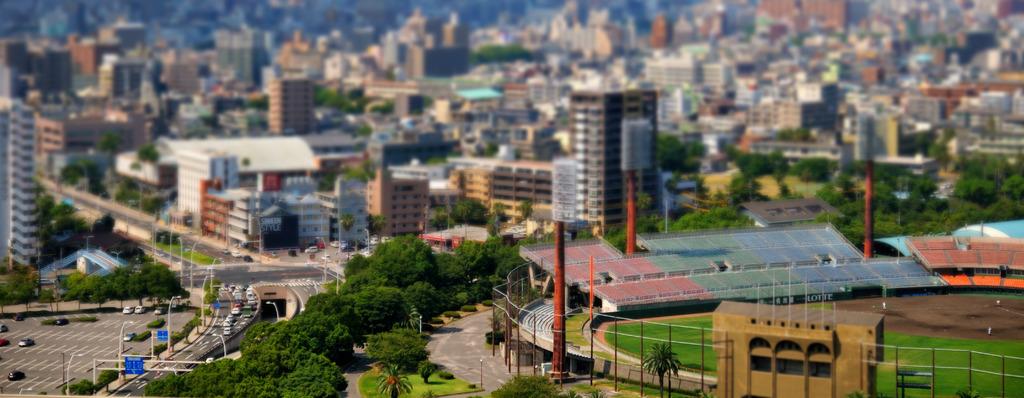 鹿児島市内の風景