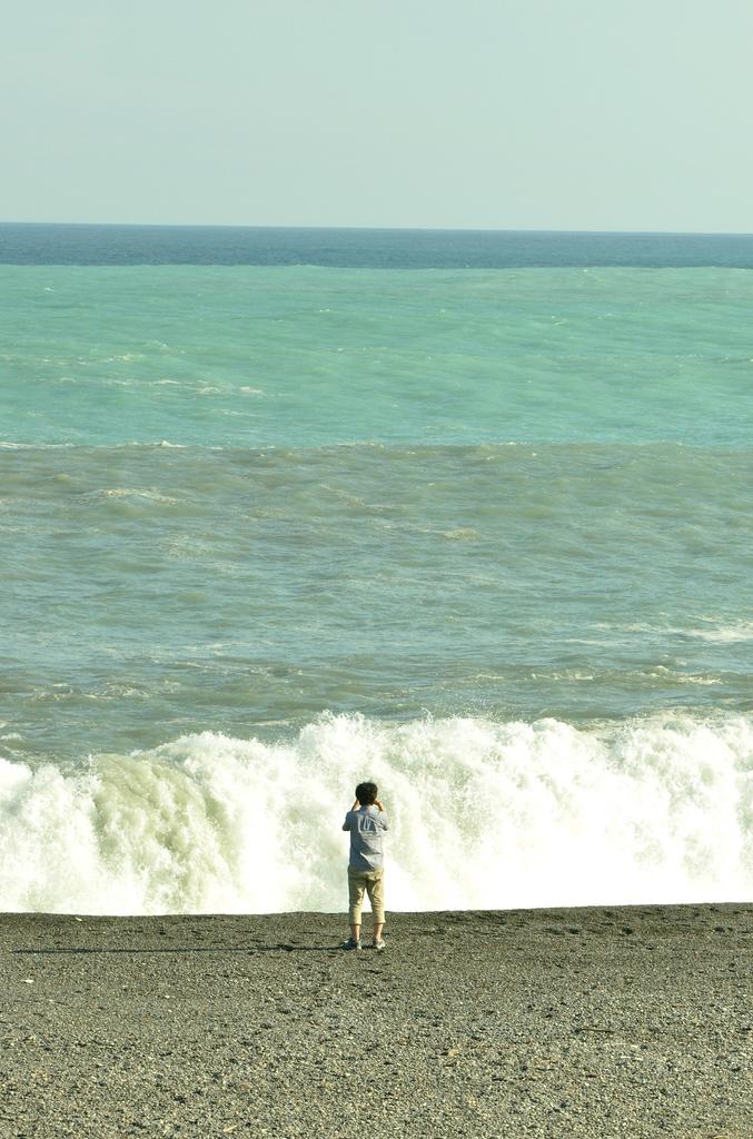 海で波ともじゃ