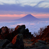 金峰山の朝
