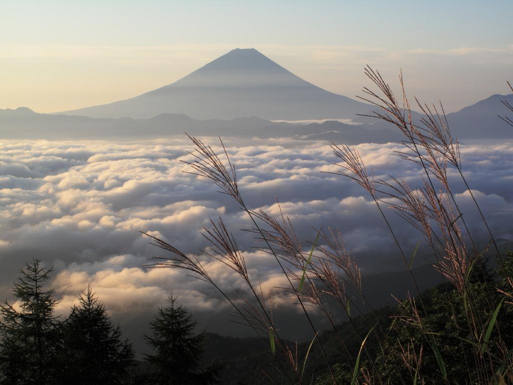 初秋 富士と雲海